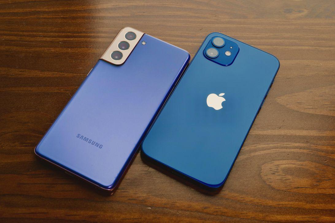 Galaxy S21 vs. iPhone 12 camera compare