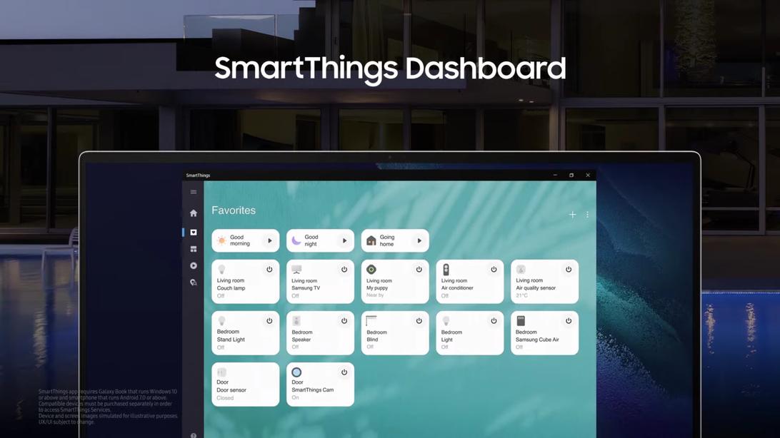SmartThings Dashboard